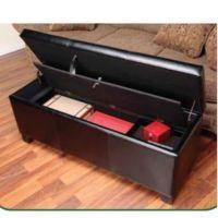 Gun Safe Cabinet Concealment Bench Ottoman Furniture ...