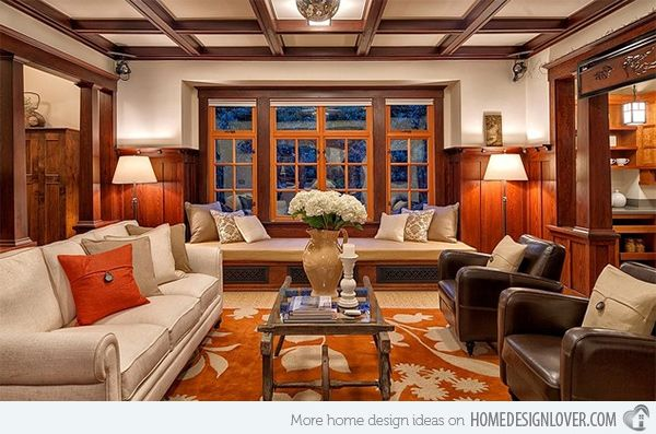 25+ best Craftsman living rooms ideas on Pinterest Craftsman - craftsman living room