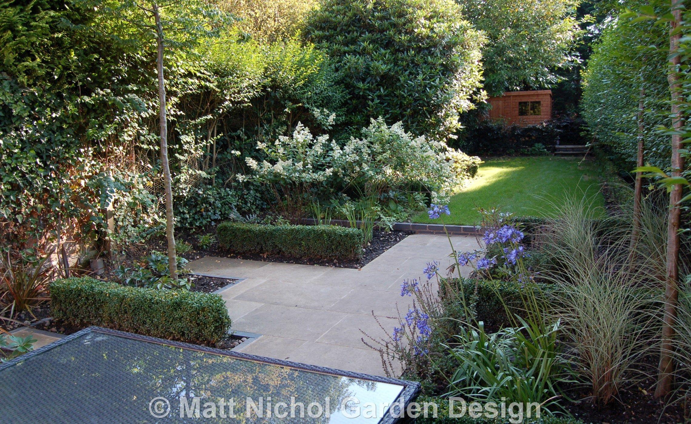 garden design ideas for long narrow gardens pictures to pin on