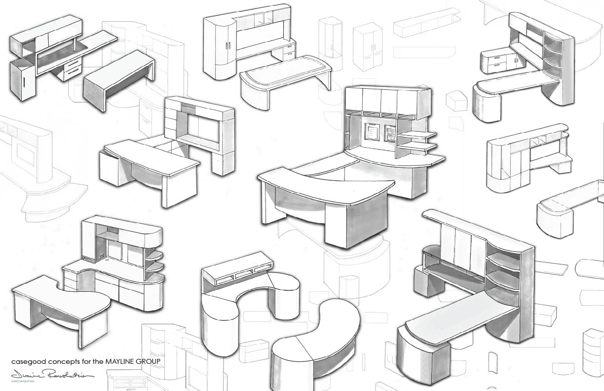 Contract furniture coroflot sketches google search industrial design