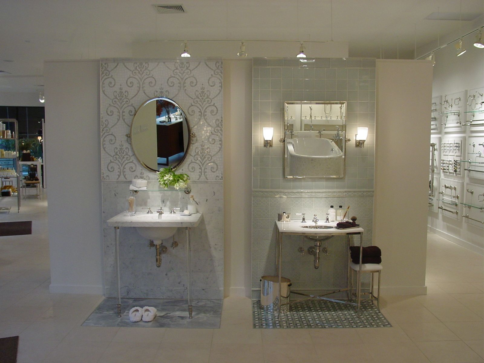 Bathrooms Showrooms Bath Display In The Greenwich Showroom Greenwich