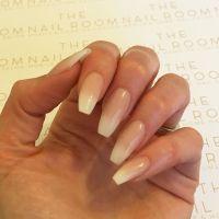 Faded French acrylic nails | Beauty&FA | Pinterest ...