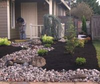 Stylish Front Yard Landscaping Ideas Without Grass Small