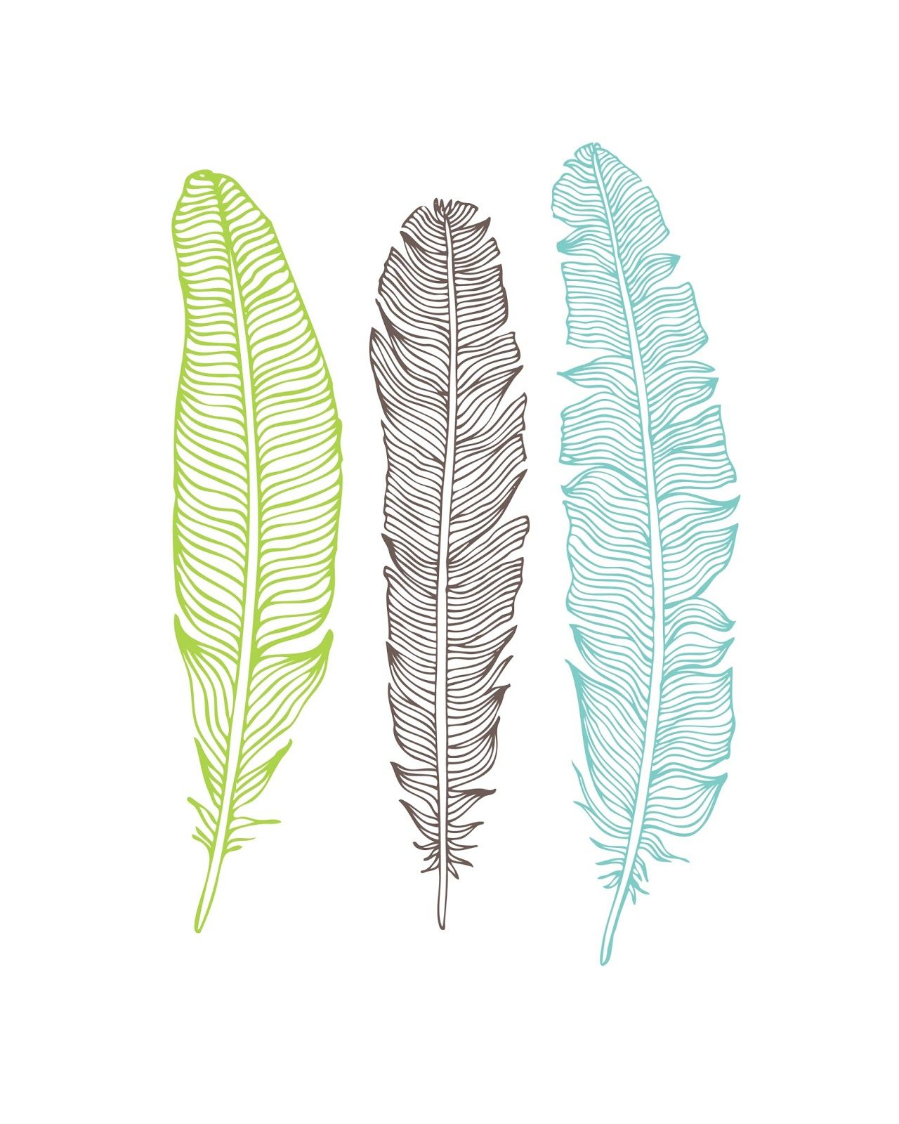 Laminas Para Pintar Cuadros Gratis Oh So Lovely Free Feather Printables Craft Time