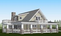 Plan 18286BE: Country Home with Wraparound Porch and 2 ...