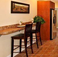 Kitchen Islands with Breakfast Bar   wall bar granite ...