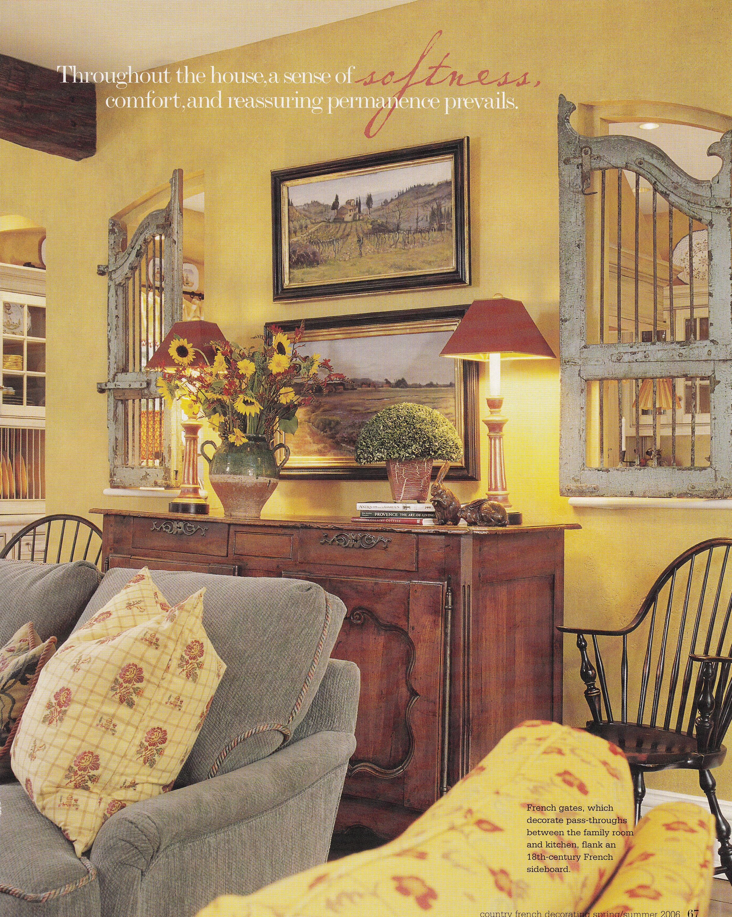 French Interior Decor French Country Decorating Interior Design Sue Alefantis