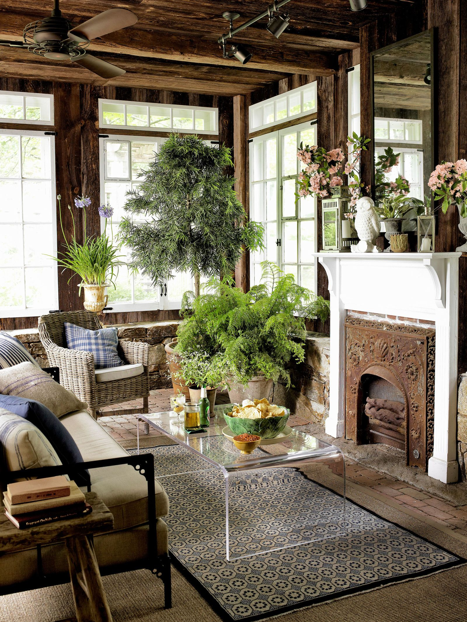 Old Farmhouse Fireplaces 42 Cozy Country Ideas For Your Fireplace Vintage
