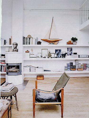 Elle Decor white rustic vintage modern living room Vintage - elle decor living rooms