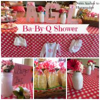 Ba-By-Q Shower {Co-Ed Barbecue Themed Baby Shower} | Baby ...
