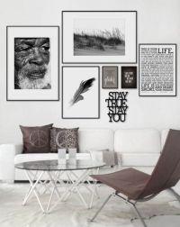 Tavelvgg, hnga tavlor | Inspiration vardagsrum ...