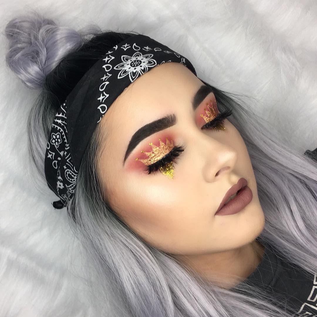 Make Up Regal Princess Crown Makeup Is The Most Regal Trend Right Now