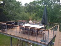 raised deck | Tokyo Style Cable Railings-Images | Outdoor ...