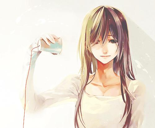 Lonely Girl Walking In Rain Wallpaper Anime Art Beautiful Cute Girl Kawaii Manga Sad