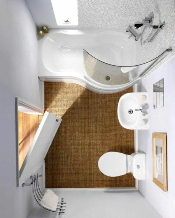 Kleines Bad einrichten - nehmen Sie die Herausforderung an! - http - gestaltung badezimmer nice ideas