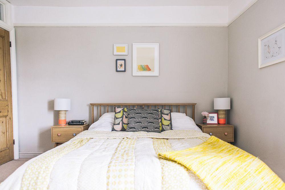 bedroom sapphire salute pebble shore dulux emulsion