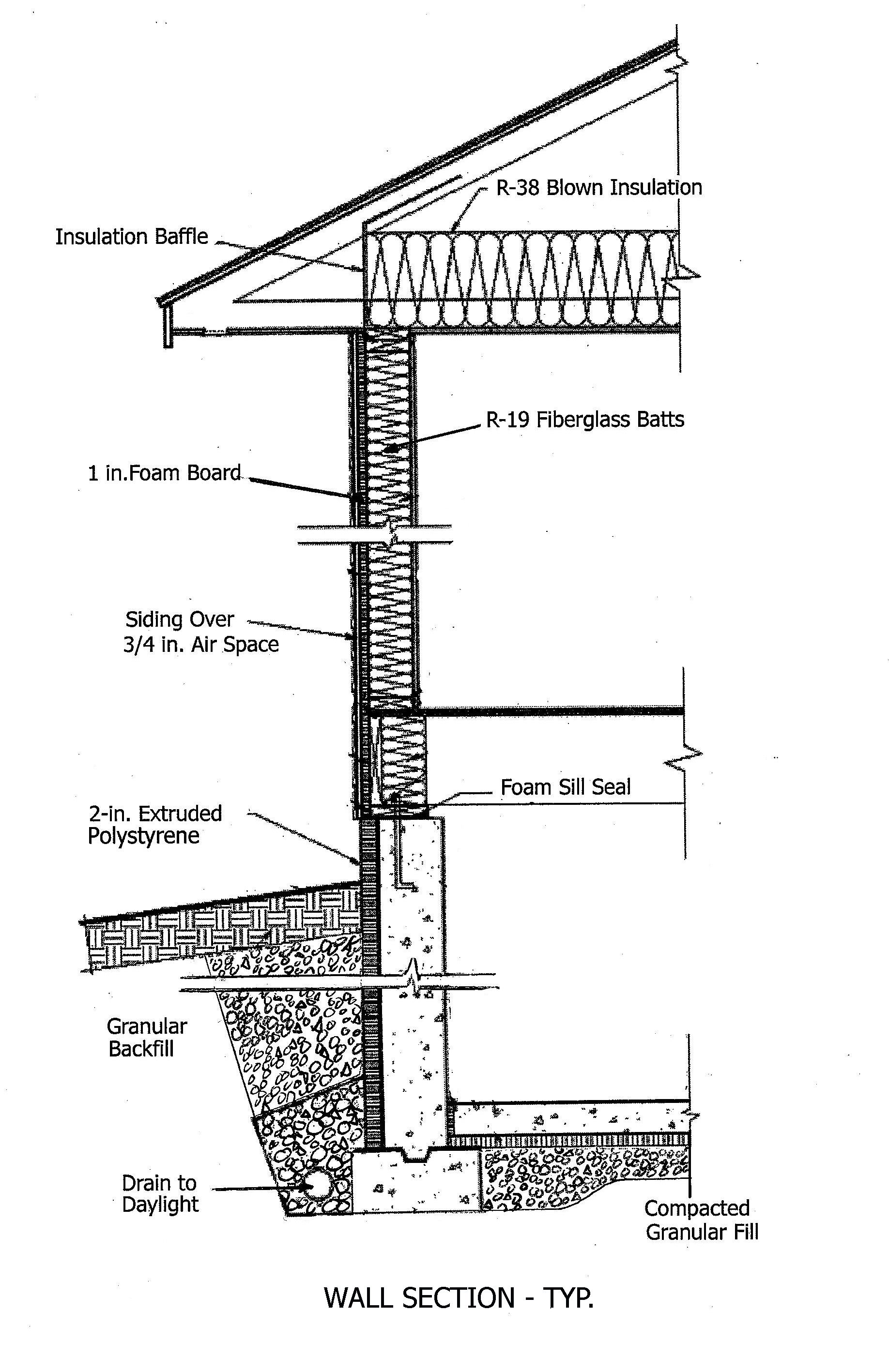 wall section diagram