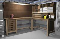 Garage Workbench on Pinterest