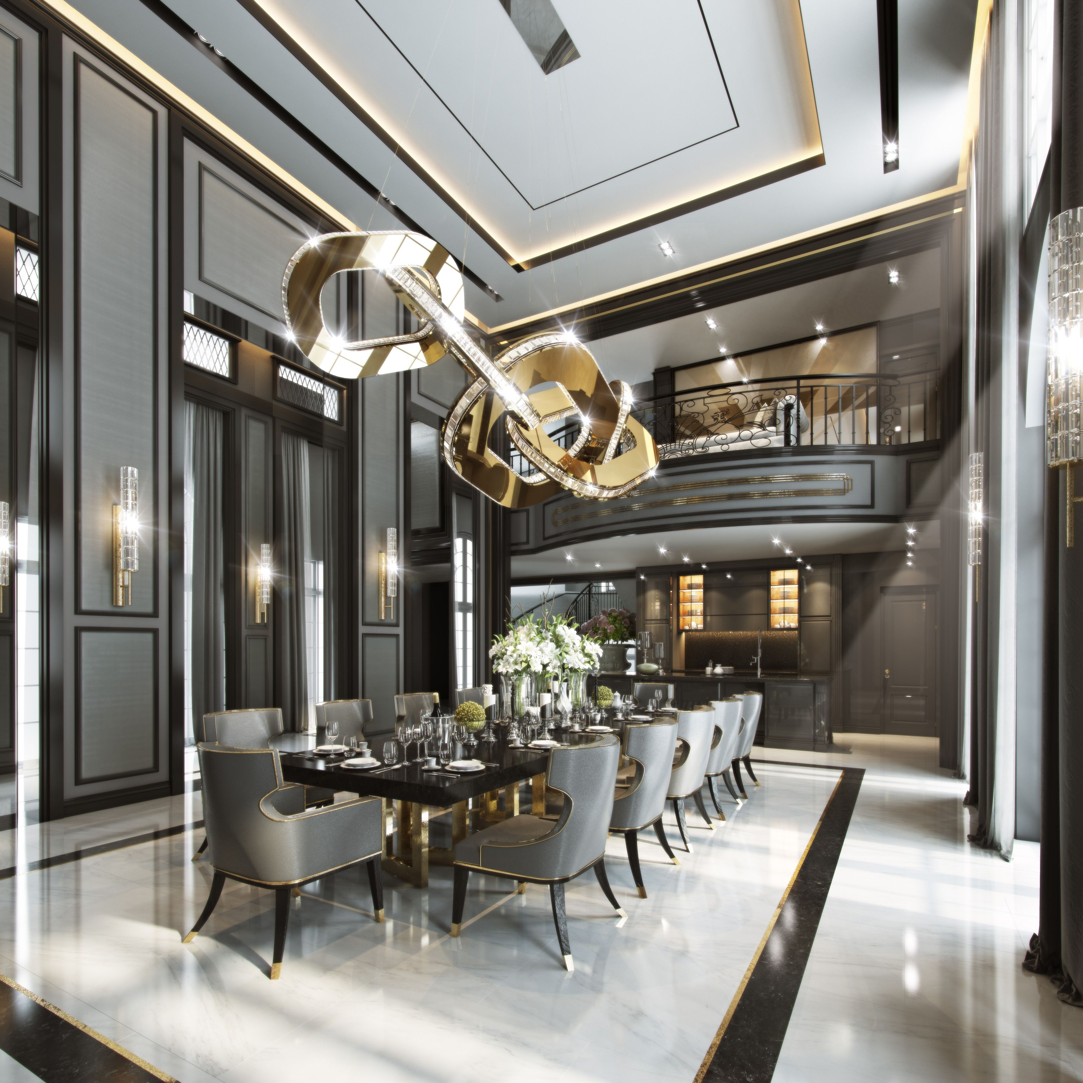 Luxurious Dining Rooms That 39s Ith Interior Residence Thatisith That 39s