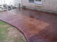 brushed concrete - Google Search | Backyard - Deck/Firepit ...