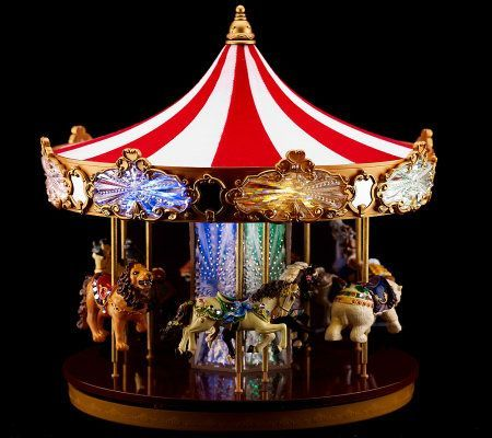 Mr Christmas 80th Anniversary Limited Edition Carousel Mr   Christmas  Carousel Decoration