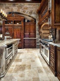 tuscan kitchen design | ... Tuscan Kitchen Style With ...