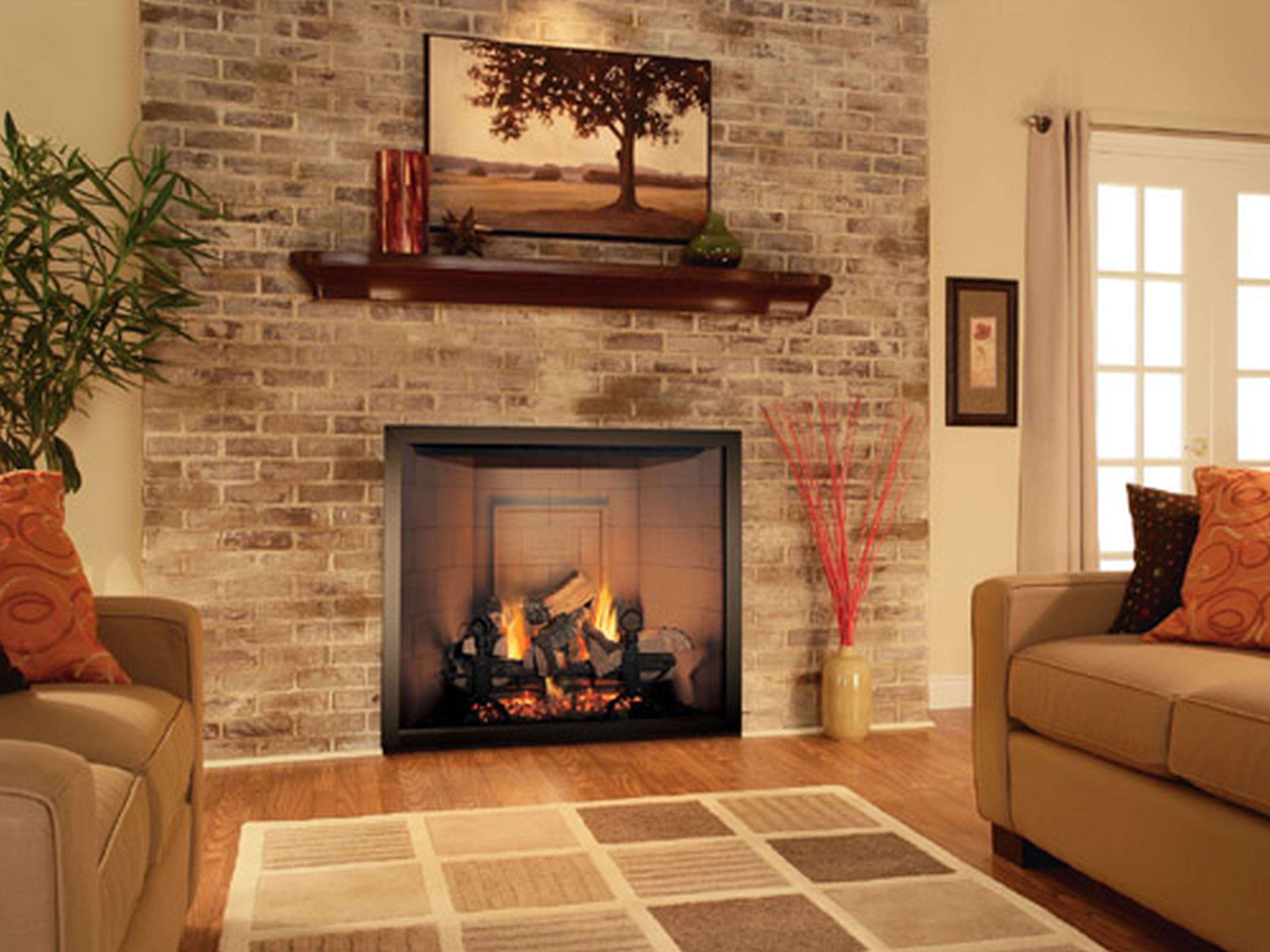 Small Room Gas Fireplace Gas Fireplace For Small Living Room