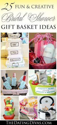 60+ BEST, Creative Bridal Shower Gift Ideas | Basket ideas ...
