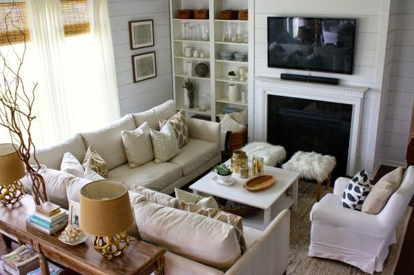 Eclectic Home Tour - House Seven Furniture layout, Sectional - small scale living room furniture