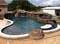 volcanic rock slide fountain pool - Google Search | Pool ...
