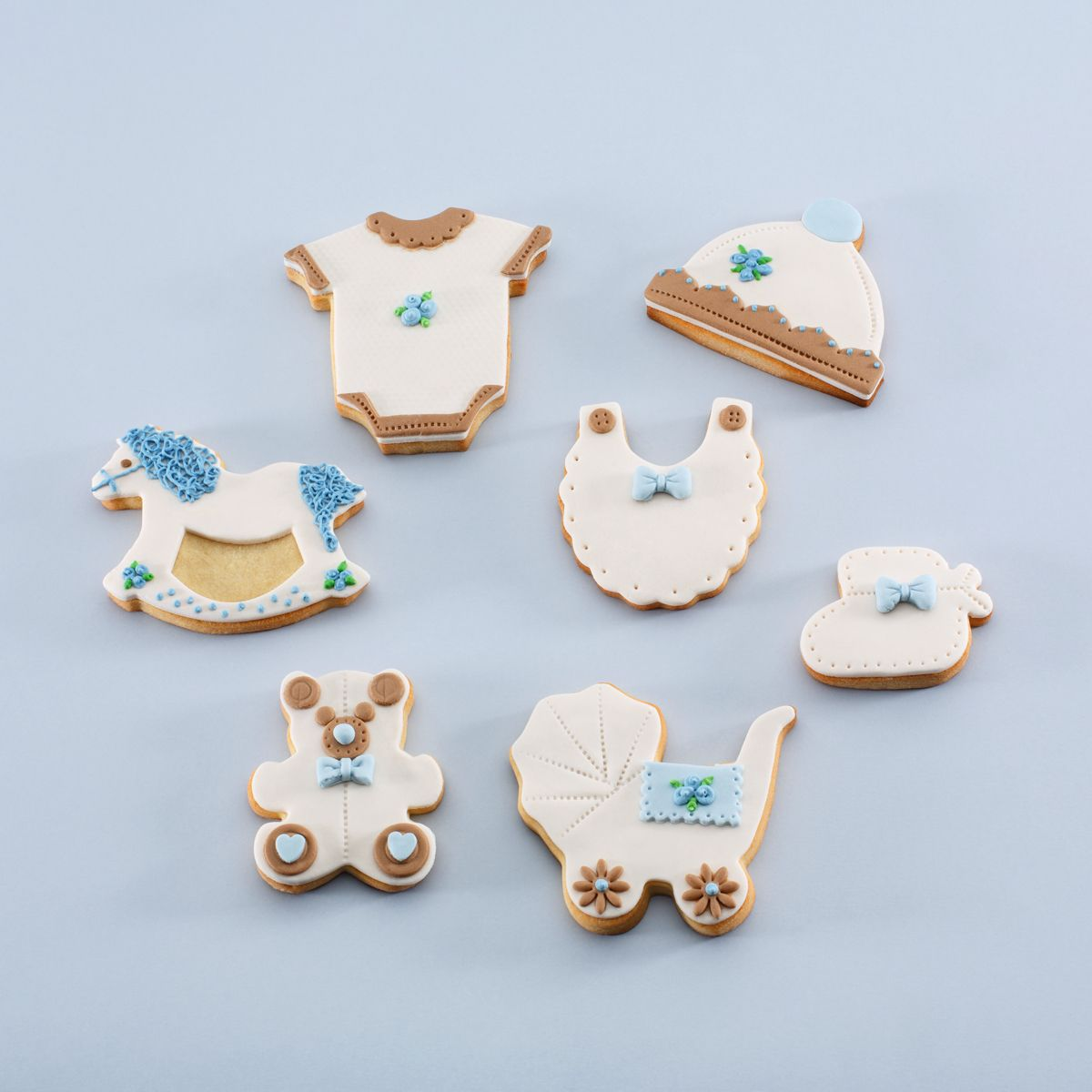 Galletas Decoradas Baby Shower Pack Quotbaby Shower Niño Quot Galletas Decoradas Comida