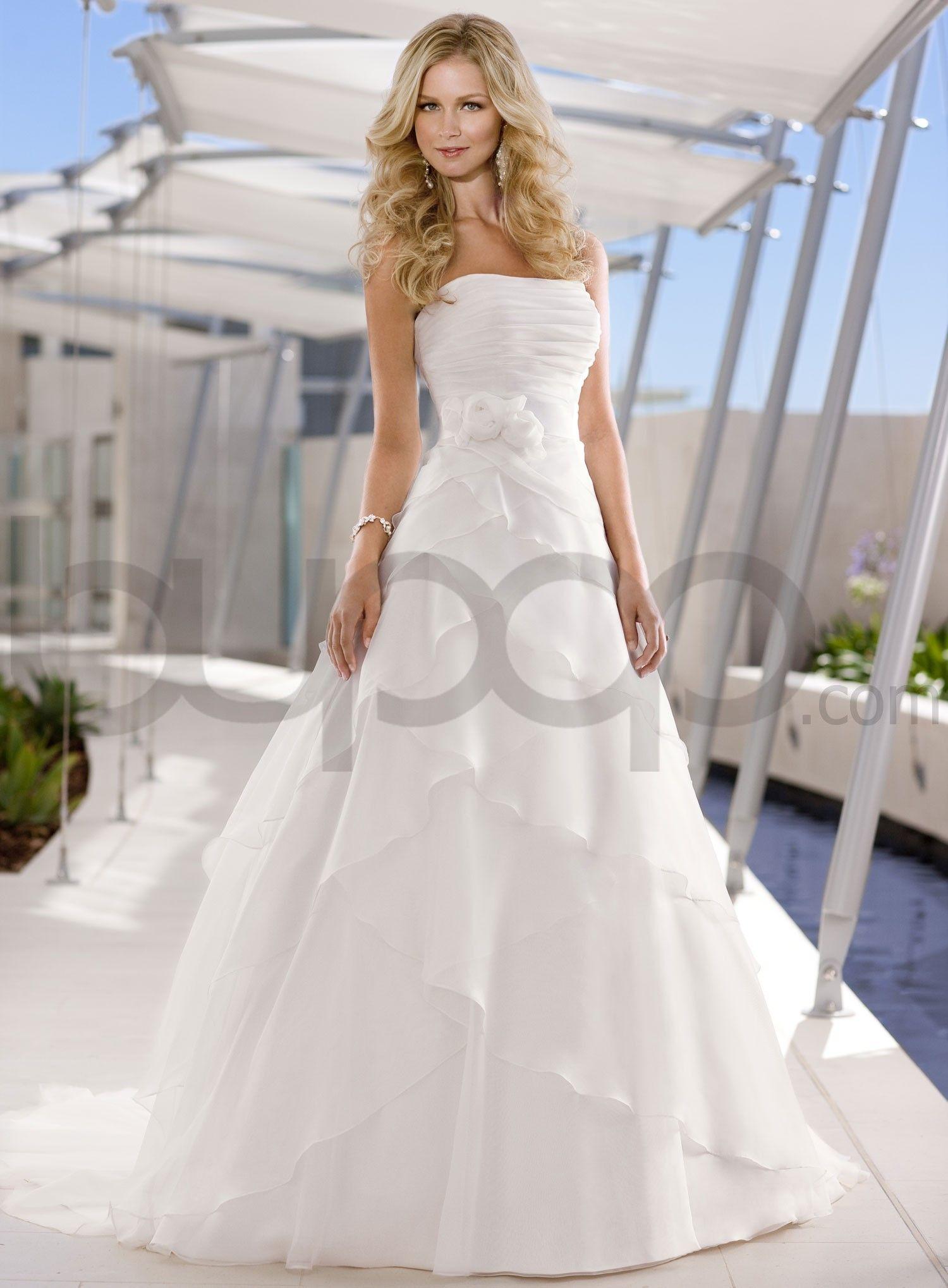 strapless wedding dress strapless wedding dresses A Line Strapless Wedding Dresses Ocodea
