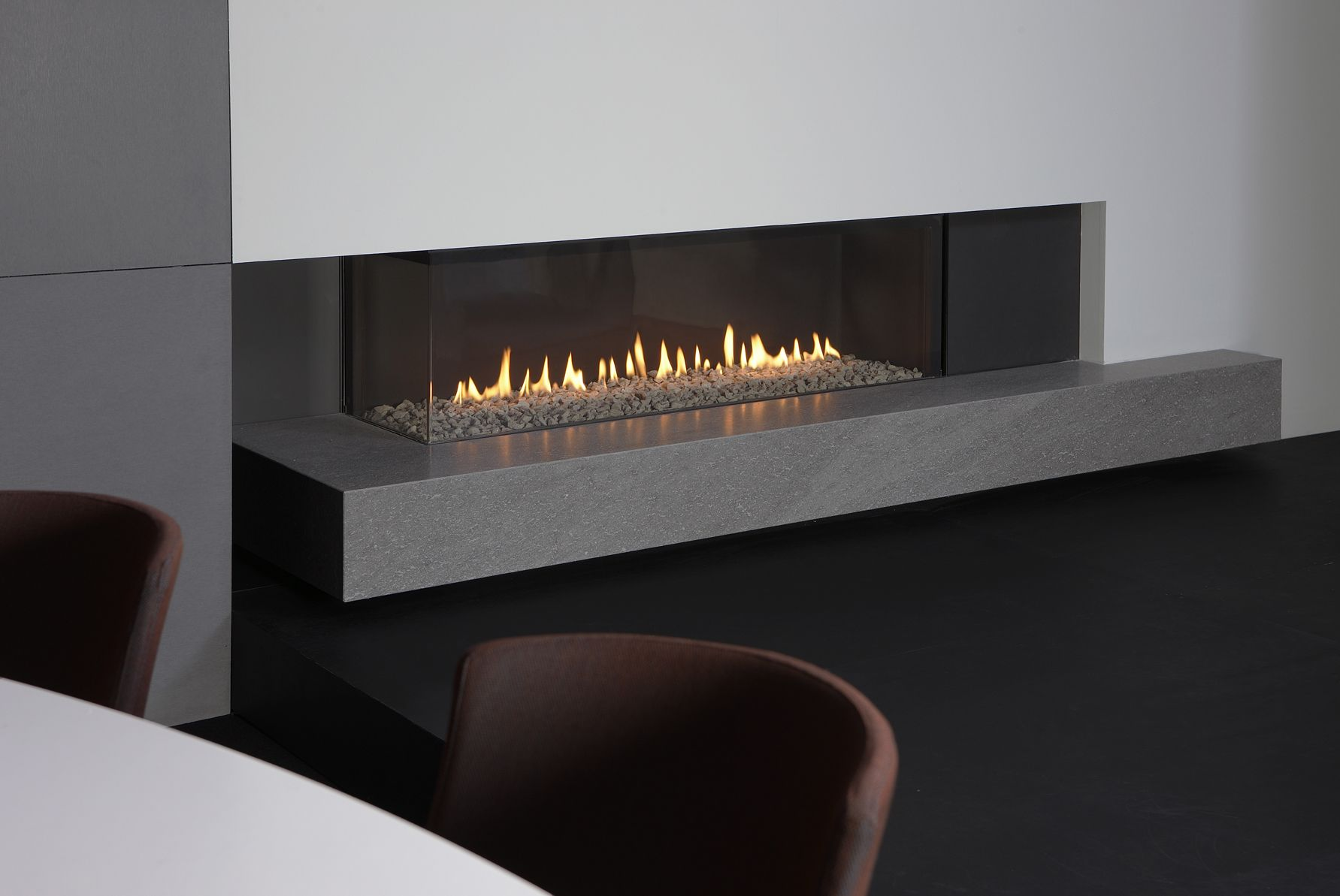 Cheminee Angle Ethanol Foyer Gaz Unique Metalfire Pinterest Foyers Et Angles