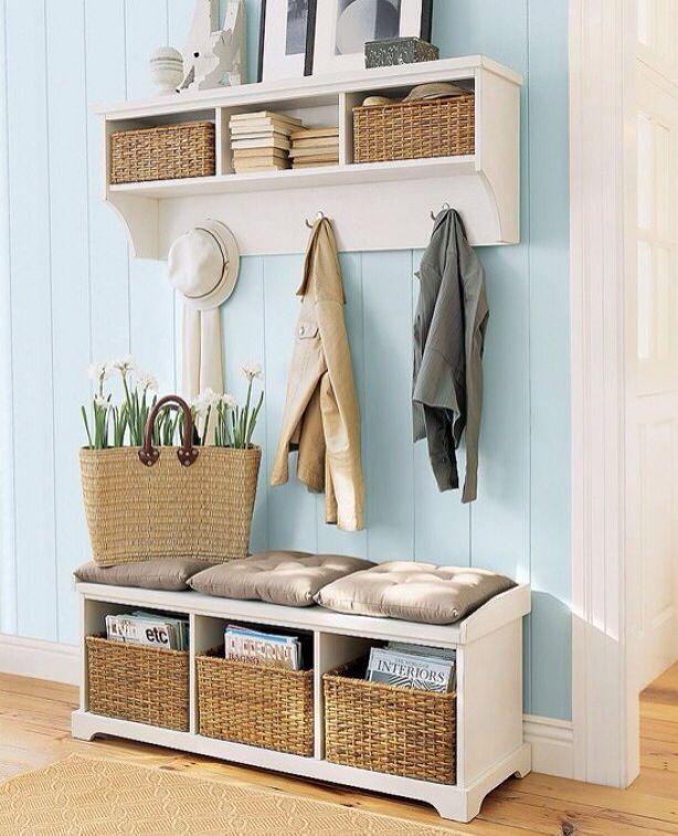Garderobe-ideen-Garderobe-Schöner wohnen neue Wohnung - garderoben ideen