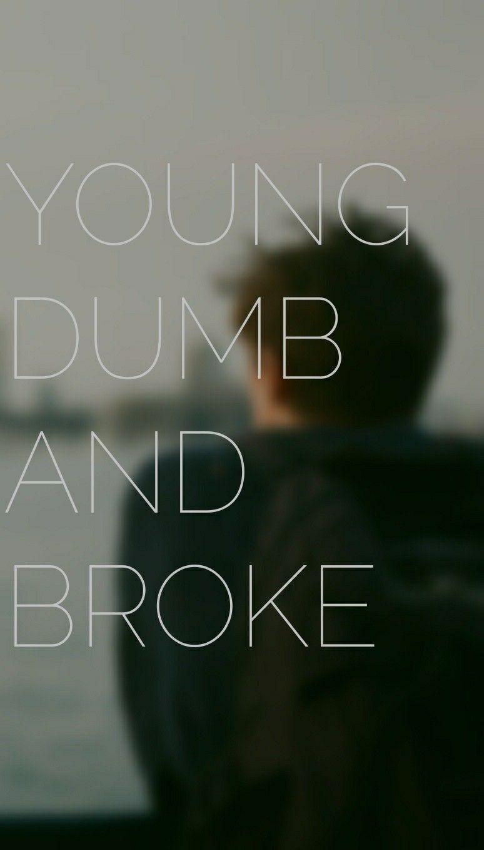 Khalid Song Quotes Wallpaper Young Dumb And Broke Khalid Lyrics Lockscreen