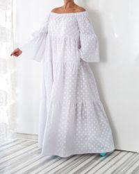 NEW SS16 collection, WHITE Maxi dress, Boho Dress, Plus ...