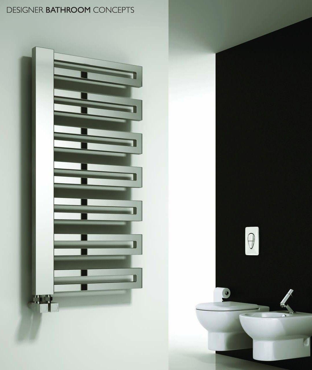 Ginosa designer heated towel rails from designerbathroomconcepts com