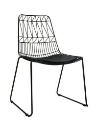Net Outdoor Chair Replica Bend Wire Lucy Dining Chairs ...