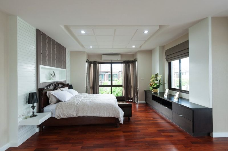 Bedroom Design Ideas With Hardwood Flooring Timber flooring - bedroom floor ideas