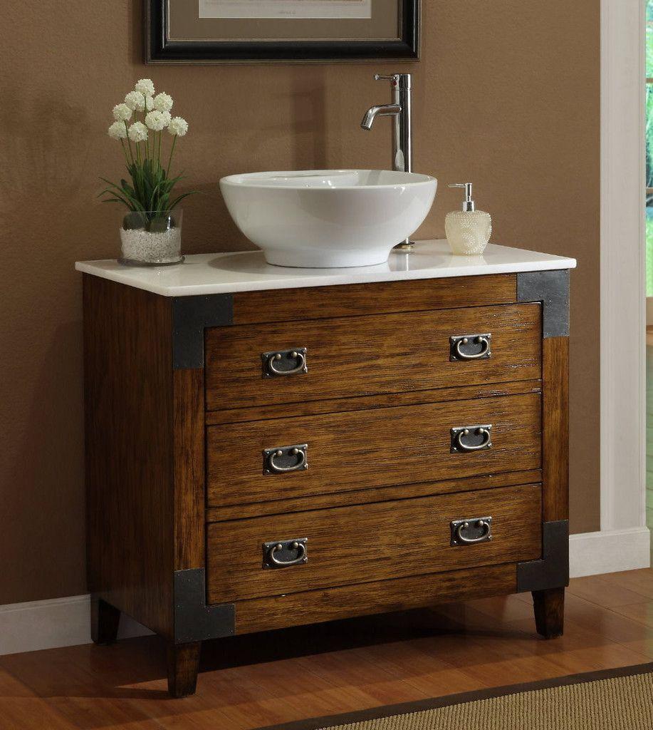 Adelina 36 inch all wood construction vessel sink bathroom vanity asian inspired bathroom sink