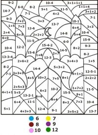 math-coloring-pages-by-number-343 | Color by Number for ...