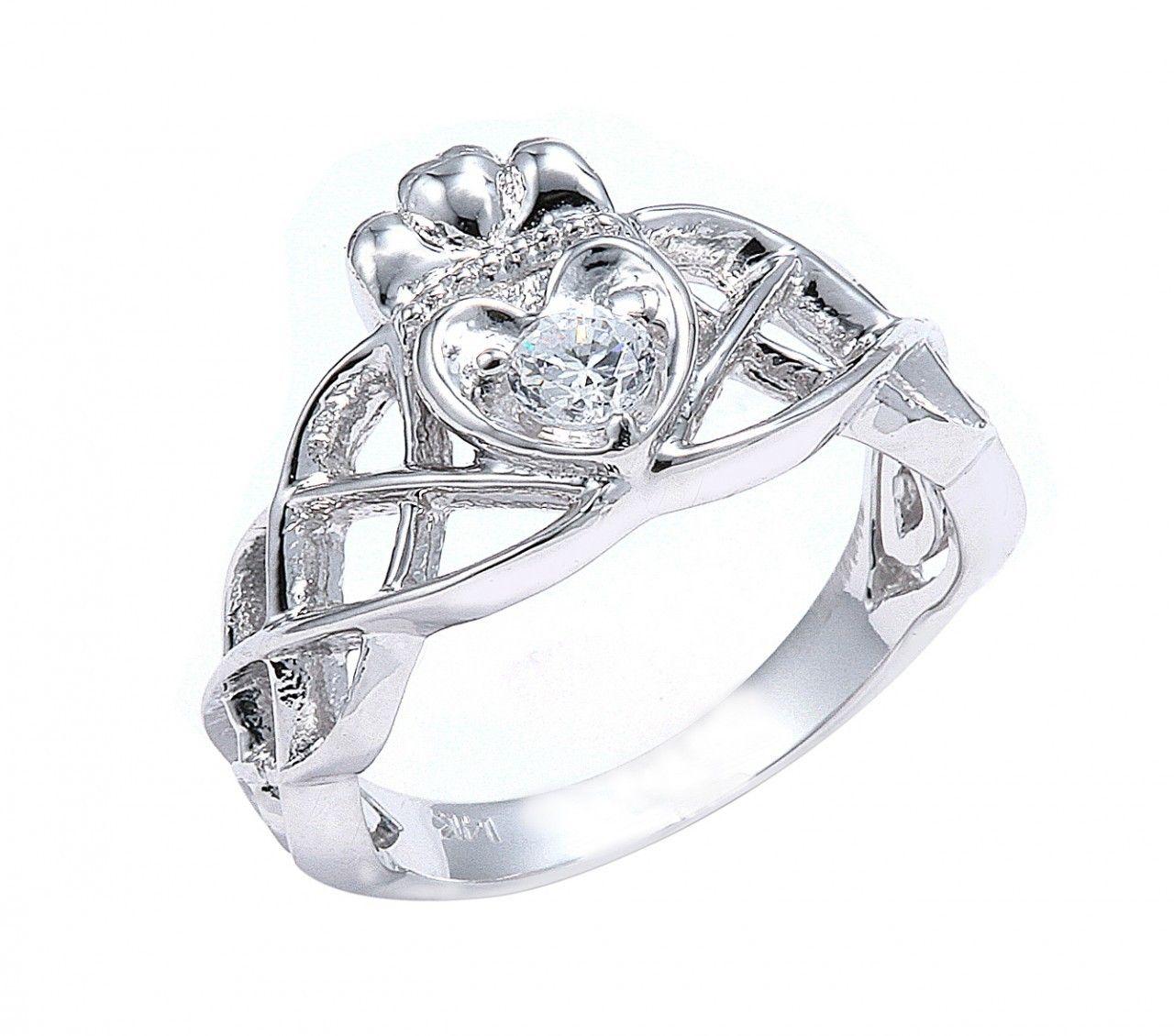 irish wedding rings Zales Diamond Engagement Rings The Diamond Claddagh And Zales Mens Wedding Rings Irish Claddagh