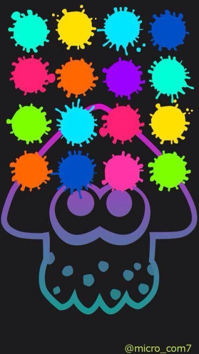 Image result for splatoon wallpaper iphone | Flock | Pinterest | Nintendo