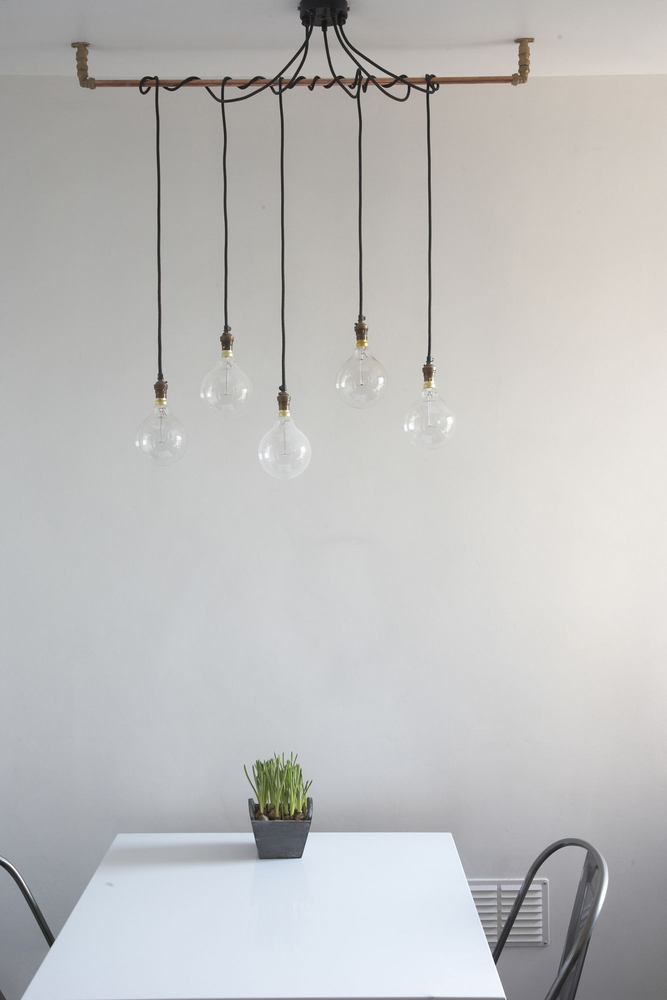 Simple Pendant Lighting We Love The Beautiful Simplicity Of Hanging These Gorgeous