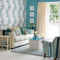 Blue Wallpaper Home Decor - Home Depot