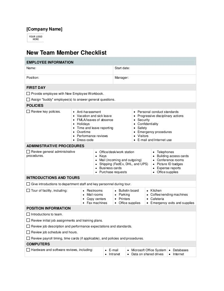 Training Checklist Template House Cleaning House Cleaning - induction checklist template
