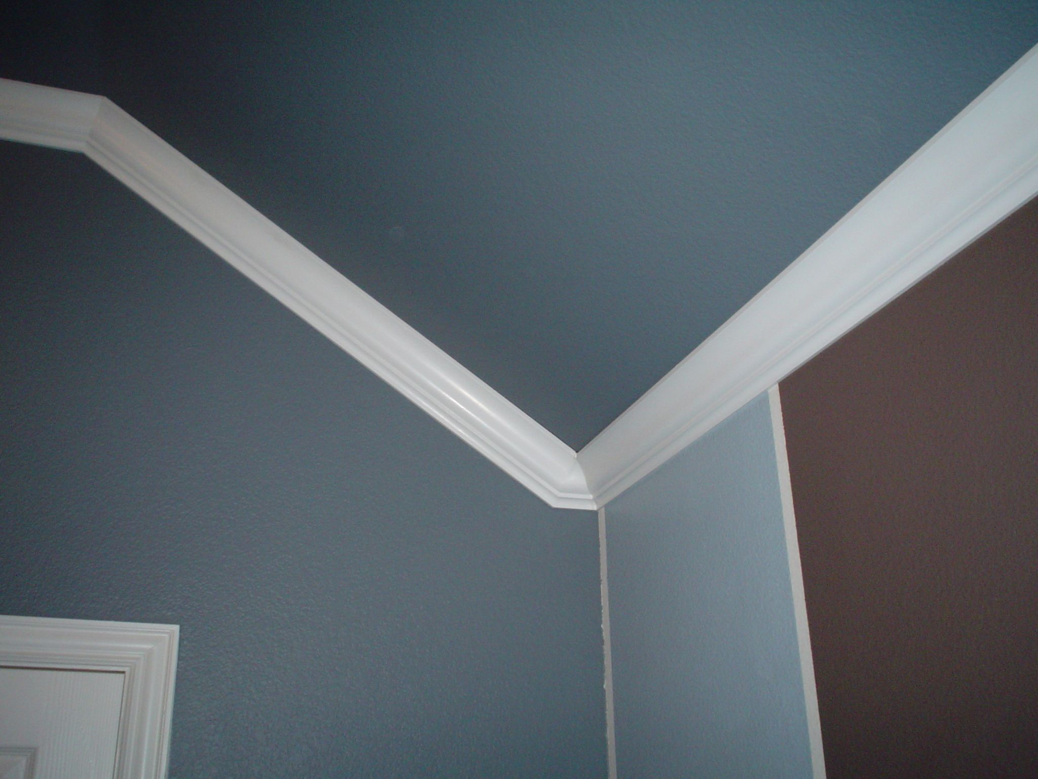 Bedroom Ceiling Moulding Angled Ceiling Crown Molding In Corner Example Next