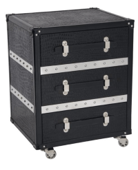 Sutton Bedside Table or Side Table - Trunk Furniture with ...