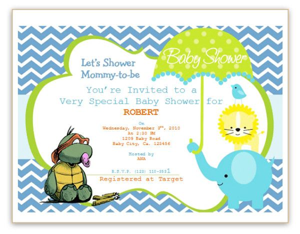 baby shower invitation template Baby boy babyshower Pinterest - baby shower invite template free