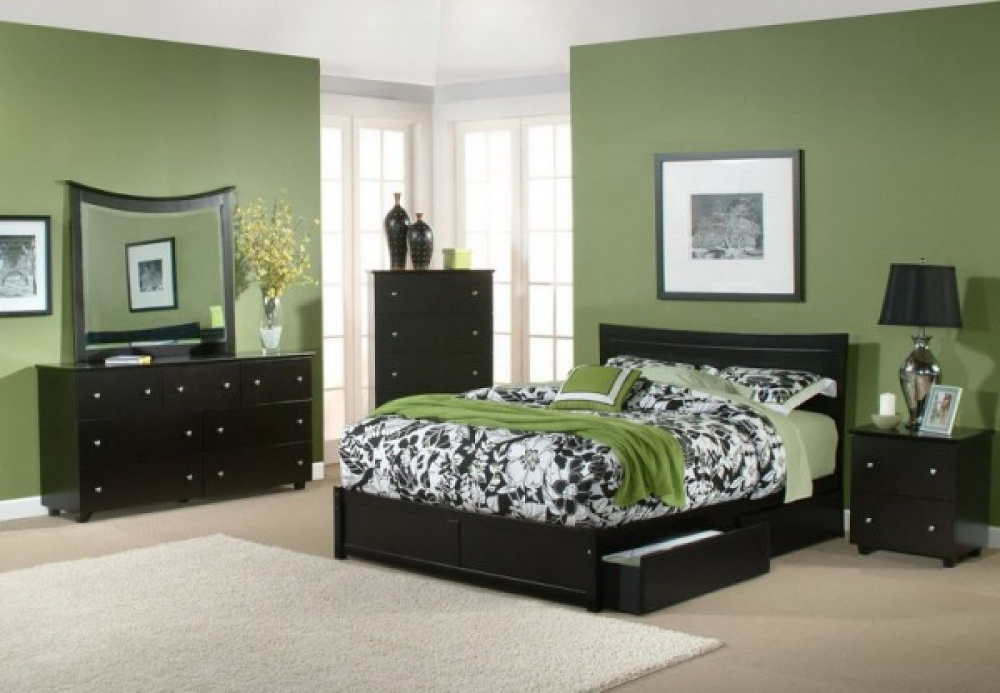 Olive Green Wall Decor Olive Green Bedroom Walls Design Pinterest Olive